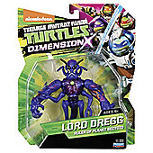 Turtles Action Figure Dimension X Lord Dregg