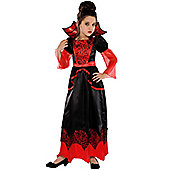 Vampire Queen - Child Costume 6-8 years