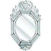 D & J Simons The Solitaire Octagonal Mirror