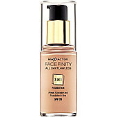 Max Factor Facefinity 3 in 1 Foundation 30ml Warm Almond (45) 30ml