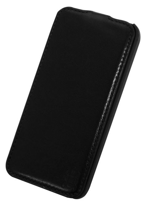 Tortoise™ Ultra Deluxe Slimline Flip Case iPhone 5 Black