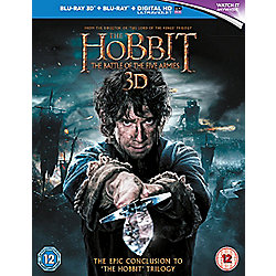 The Hobbit: Battle Of The Five Armies 3D Blu-ray