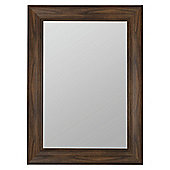 Barcelona Dark Wood Mirror