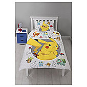 Pokemon Catch Single Duvet Cover