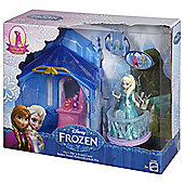 Disney Frozen Small Elsa Doll Flip N Switch Castle Exclusive