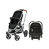 Mothercare Xpedior Four Wheel Base Pack- Silver