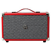 GPO Westwood  Bluetooth Speaker Red