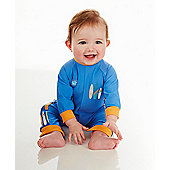 Splash About Baby UV All in One - Surfs Up - Blue