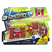 B-Daman Deluxe Crossfire Strike Dragren Figure with Quick Loader Magazine