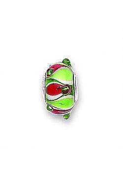 Jo For Girls Fantasia Glass Slide On Bead