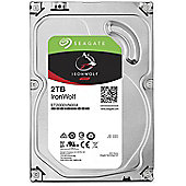 Seagate IronWolf 2TB 64MB 3.5IN SATA 6GB/s NAS HDD