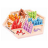 Bigjigs Toys Chinese Chequers