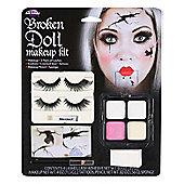Broken Doll Face Make-Up Kit