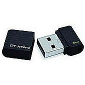 Kingston DataTraveler Micro (8GB) USB 2.0 Flash Drive (Black) CBID:2109907