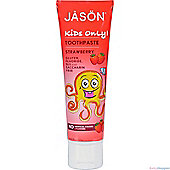 Jasons Natural Earth's Best Organic Kids Strawberry Toothpaste 119g
