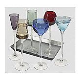Artland 7 Piece Long Stem Liquer Glasses