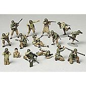 WWII US Army Infantry GI Set 148 Scale Military Tamiya