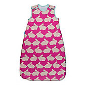 Grobag Anorak Kissing Rabbits 1.0 Tog Sleeping Bag - 0-6 Months