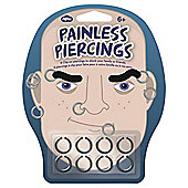 Painless Piercings For Him, Set of 8