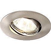 Home Essence 1 Light DownLight in Satin Nickel