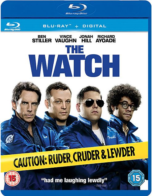 The Watch Bluray