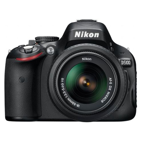 Nikon D5100 SLR with 18-55mm and 55-200mm VR Lens Kit
