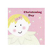 Baby Boo Christening Card - Girl