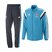 2014-15 Chelsea Adidas Presentation Tracksuit (Blue) - Infants - Blue