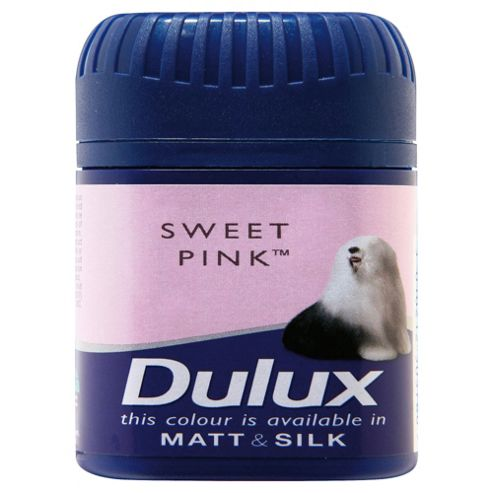 Dulux Matt Sweet Pink Tester 50Ml