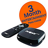 NOW TV HD Digital Media Streamer with Sky Entertainment 3 Month Pass