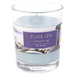 Tesco Pure Spa Candle in a Jar