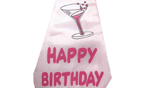 (Happy Birthday) - Big Funny Tie-Fancy Dress