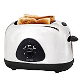 Lloytron 2 slice Toaster - White