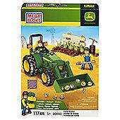 Mega Bloks John Deere Farm Tractor  80840U