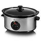 Swan SF17020N 3.5 Litre Stainless Steel Slow Cooker