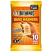 Hot Hands Hand Warmers Value Pack, 5 Pairs