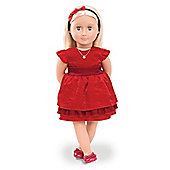 Our Generation Ginger With Book Deluxe Doll