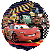 18' Disney Cars 2 McQueen & Group Round Foil (each)