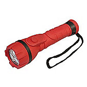 Lighthouse R2AALED 3-LED Rubber Torch