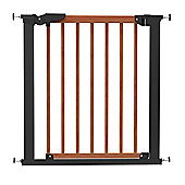 BabyDan Avantgarde Gate Cherry Wood and Black