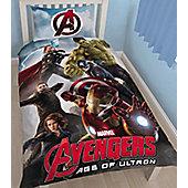 Marvel Avengers Single Panel Bedding- Age of Ultron