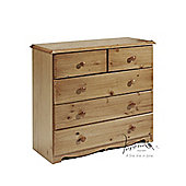 Verona 3+2 Drawer Chest - Antique