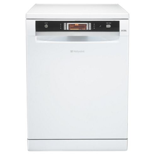 Hotpoint FDUD51110P Fullsize Dishwasher, A Energy Rating, White