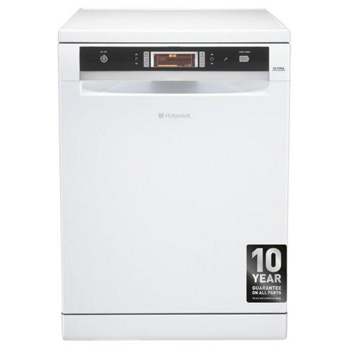 Hotpoint FDUD51110P Fullsize Dishwasher, A Energy Rating, White