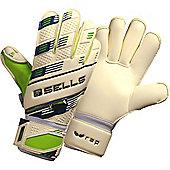 Sells Wrap Pro Terrain Junior Goalkeeper Gloves - White