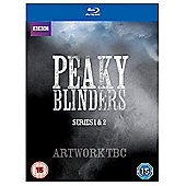 Peaky Blinders Box Set (Series 1 & 2) Blu-Ray 4disc