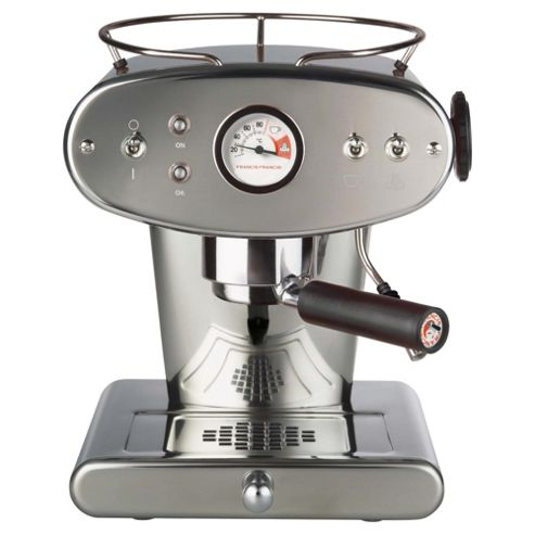 Francis Francis X1 Espresso Coffee Machine - Stainless Steel