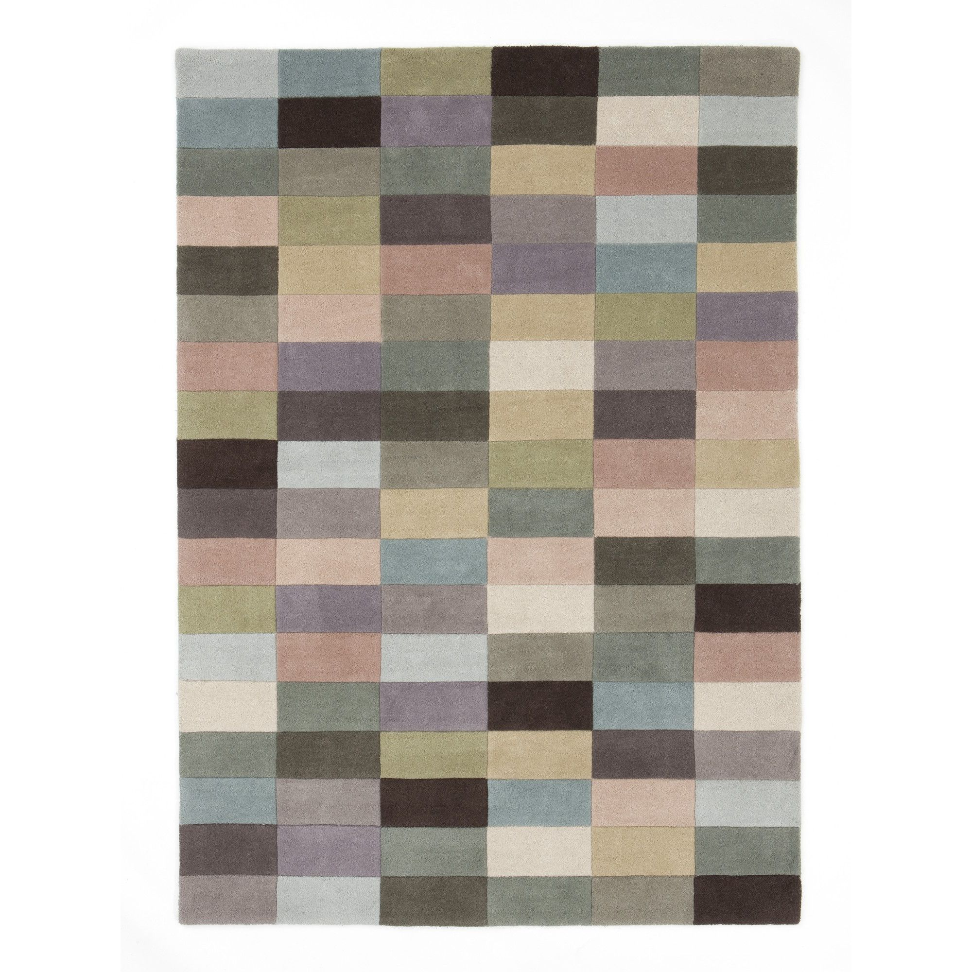 Linie Design Romina Pastel Rug - 200cm x 140cm at Tesco Direct