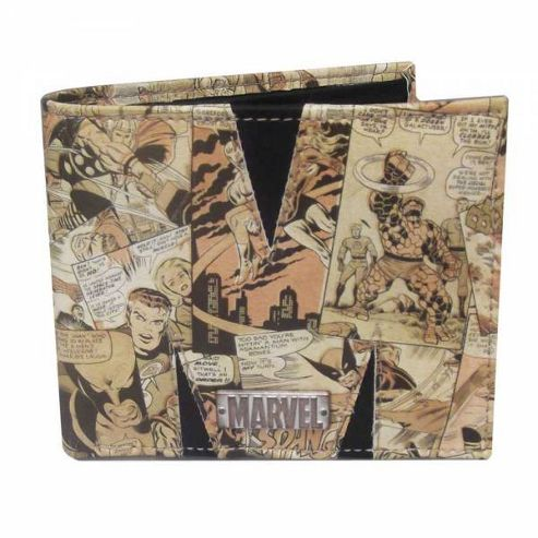 Marvel Comic ReLoaded Wallet (Exterior Print)