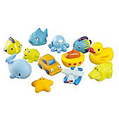 BabyMoov Bath Friends Bath Toys - Blue